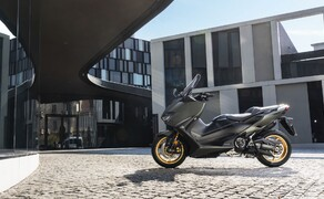 Yamaha Motorrad Neuheiten 2020 Bild 12 Der Yamaha TMAX 560 Tech MAX 2020.