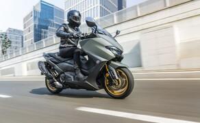 Yamaha Motorrad Neuheiten 2020 Bild 13 Der Yamaha TMAX 560 Tech MAX 2020.
