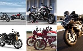 Triumph Motorrad Neuheiten 2020 Bild 1 Diese Liste zu den Triumph Motorrad Neuheiten 2020 wird aktuell gehalten.