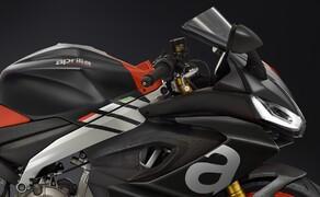 Aprilia RS 660 2020 - straßenzugelassene Version! Bild 6 Auch im Seitenprofil machen die LED-Streifen noch einen mächtigen Eindruck!