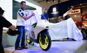 Das Husqvarna Moto3 Motorrad für 2020 Bild 2 Die neue Husqvarna FR 250 GP wird erstmals präsentiert.