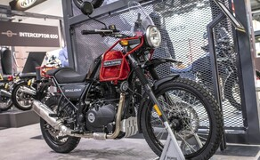Royal Enfield Neuheiten 2020 Bild 1 Royal Enfield Himalayan in Rock Red
