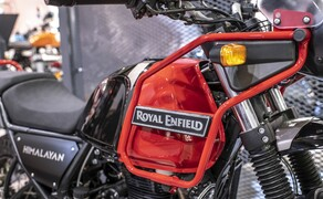 Royal Enfield Neuheiten 2020 Bild 12 Royal Enfield Himalayan in Rock Red