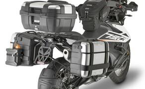GIVI Zubehör für die KTM 790 Adventure Bild 11 Auch dieses Kofferset bietet genügend Stauraum.
