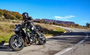 Kawasaki Z900 2020 Test in Spanien Bild 7