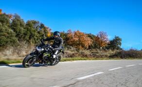 Kawasaki Z900 2020 Test in Spanien Bild 8