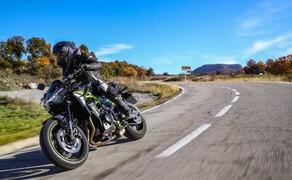 Kawasaki Z900 2020 Test in Spanien Bild 9