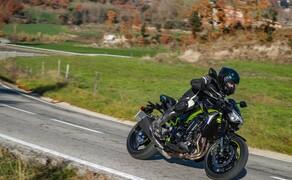 Kawasaki Z900 2020 Test in Spanien Bild 11