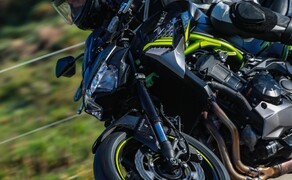 Kawasaki Z900 2020 Test in Spanien Bild 15