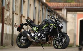 Kawasaki Z900 2020 Test in Spanien Bild 16