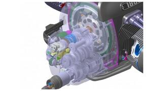 BMW R18 Motor Bild 16 Sechsganggetriebe mit Einscheiben Trockenkupplung. Servounterstützung und Anti-Hopping Funktion inklusive.