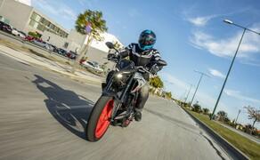 Yamaha MT-03 Test 2020 Bild 15