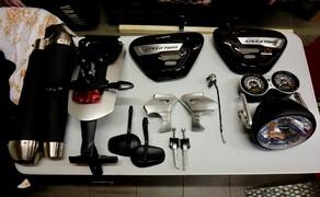 Triumph Custom Aces 2019 'Hang Loose' - der Umbauprozess Bild 6 Die entfernten Teile #1