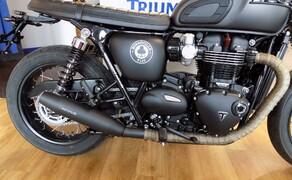 Triumph Bonneville ACE Umbau Bild 2