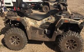Stels ATV Gelände Probefahrt Tag  Bild 11 Stels 650 Guepard ATV in Wood Camouflage