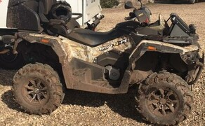 Stels ATV Gelände Probefahrt Tag  Bild 12 Stels 650 Guepard ATV in Wood Camouflage