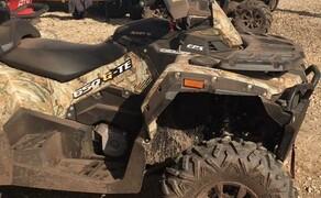 Stels ATV Gelände Probefahrt Tag  Bild 13 Stels 650 Guepard ATV in Wood Camouflage