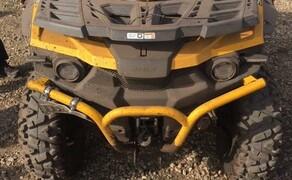 Stels ATV Gelände Probefahrt Tag  Bild 1 Stels 650 Guepard ATV mit Servo