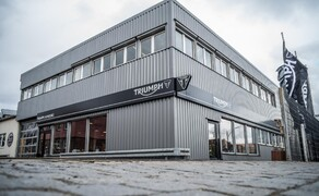 Triumph Black World Bild 1 Triumph Black World  Flagshipstore Hamburg