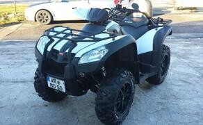 Folierungen/Motorrad Bild 2 Mxu500 in Weiß foliert
