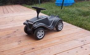 Folierungen/Motorrad Bild 5 Bobbycar mit Carbonfolie foliert
