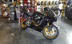Folierungen/Motorrad Bild 17 Felgenhorn Gold foliert