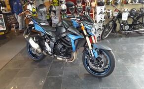 Folierungen/Motorrad Bild 20 GSR750- Teilfolierung in Blau-Matt