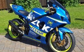 Folierungen/Motorrad Bild 1 GSXR1000- komplett Blau Matt foliert, Felgen Neon und mit Schriftzüge veredelt