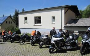 Motorradausfahrt 2019 zum Besucherbergwerk Marie Louise Stolln Bild 10