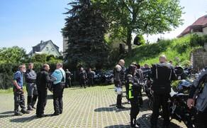 Motorradausfahrt 2019 zum Besucherbergwerk Marie Louise Stolln Bild 4