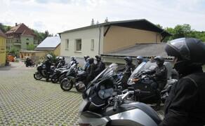 Motorradausfahrt 2019 zum Besucherbergwerk Marie Louise Stolln Bild 9