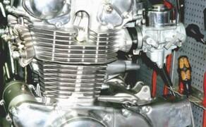 Zweirad Schneider in Rösrath-Köln Bild 4 Honda CB450K Motor