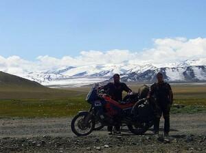Noch guten Mutes im Altai auf 2.500 m