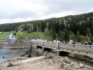 Stausee Richtung Spindlerov Mlyn / Spindlermühle