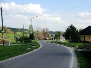 Landschaft  an der polnischen Grenze