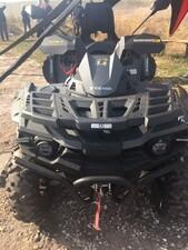 Stels 650 Guepard ATV in Carbon