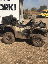 Stels 650 Guepard ATV in Wood Camouflage