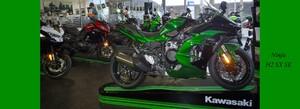 Ninja H2 SX SE -kompressorgeladener Motor-