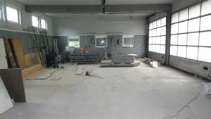 Unsere zukünftige Werkstatt.