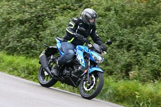 Suzuki GSX-S 125 Test