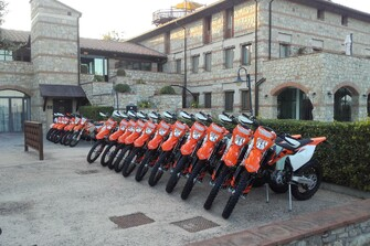 KTM - OffRoad Workshop Toskana (Chianti) Galerie vom 12.10.2017
