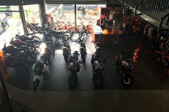 Unser KTM Shop Galerie vom 15.12.2016