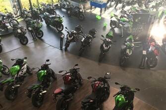 Unser Kawasaki Shop