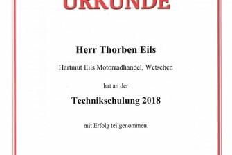 Technikschulung Thorben