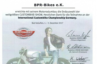 International Custombike Championship Germany
