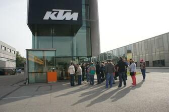KTM Werksbesichtugung