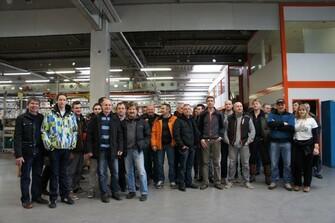 KTM Werksbesichtugung 22.02.2013