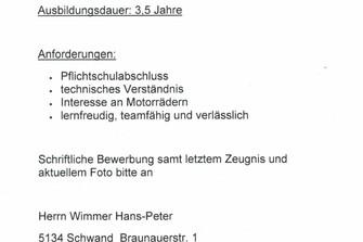 LEHRLING KFZ TECHNIKER