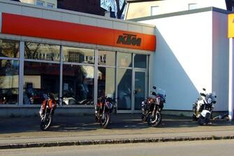Geschäftsgebäude KTM Bernhardt Galerie vom 05.06.2017