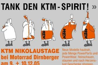 KTM Nikolaustage 2005